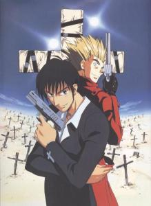 Vash and Wolfwood